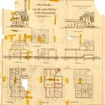 Bauzeichnung von 1913